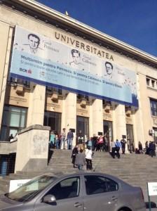 L'università di Bucarest